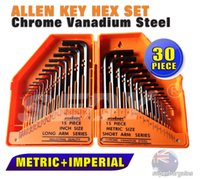 allen wrench box - HOT New Allen Hex Key Wrench Set With Box High Quality Filter Diagnostic Tool Wrench