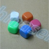 Wholesale 16MM blank dice paintless plain engravable DIY multifunctional dice ktv dice chess game accessories teaching dices