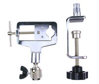 adjustable metal clamps - Metal Alloy Adjustable Locksmith Tool Softcover Type Practice Lock Vice Clamp Revolve training vice SYG