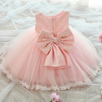 baby toddler products - New products Girls Tulle Flower Princess Wedding Dress For Toddler and Baby Girl for sale