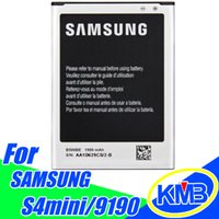 Wholesale Samsung s4 mini Galaxy B500AE Batteries For Samsung Galaxy SIV Mini I9192 I9195 standar battery replement battery