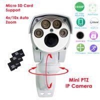 Wholesale SD Card support Full HD P IP Camera PTZ Outdoor MP x mm x mm Motorized Auto Zoom Varifocal lens IR Cut Onvif