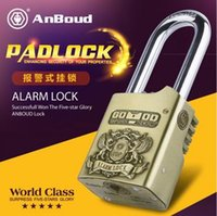alarm padlocks - AL50 AnBoud Alarm Padlock Home Garage Electronic Alarm Security Locks Antique Brass