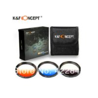 Wholesale 77mm filter gradient filter with bag for Canon Nikon Camera Russia Camera Filter