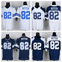 authentic cowboys jerseys - HOT SALE Men s Cowboys Elite Football Jerseys WITTEN High Quality Stitched authentic Four Colors Allowed