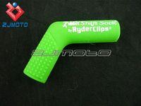 atv shifter - RYDER CLIPS MOTORCYCLE ATV MX RUBBER SHIFT SOCK BLUE SHIFTER SKIN PROTECTOR GREEN FOR KAWASAKI Z750 Z1000 ZX6R10R NINJA ER