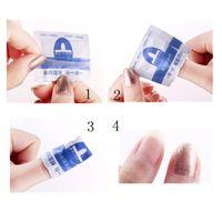Wholesale 50pcs Gel Remover Wraps Nail Art Soak Off UV LED Gel Nail Polish Remover Nail Tools For Nail Salon