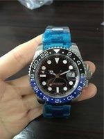 Wholesale luxury new brand watches Ceramic Bezel sapphire glass black blue bezel wristwatch