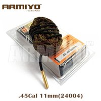 Wholesale Armiyo Hoppe s Boresnake Fastest Bore Snake Pistol Barrel Cleaner Cal Hunting Gun Cleaning Accessories