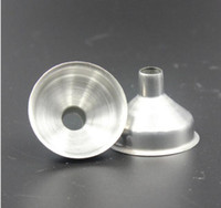 Wholesale Mini Stainless Steel Flask wine Funnel Hopper Funnel Liquor Hip Flasks weirdland Pourer hot
