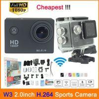 Wholesale SJ4000 SJ7000 Wifi Version Action DV Gopro Style Mini Sport DV Action Camera With P fps Full HD M Waterproof SJ4000W3