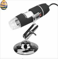 Wholesale New X X USB Digital Microscope Microscopes MP LED Endoscope Image CMOS Sensor PC Camera Video Magnifier