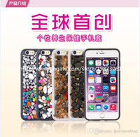 apple massages - For Iphone Cases Health Care Massage Stone Antiskid Back Cover for iPhone Plus Inch Inch DHL Free