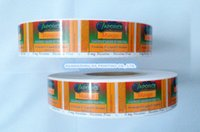 adhesive label manufacturers - Labels stickers printing custom adhesive labels stickers on rolls food stickers labels manufacturer