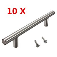 Wholesale High Quality Stainless Steel Cabinet T Bar Handle Kitchen Cabinet Handles Best Promotion