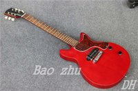 age suppliers - China guitar factory Direct Supplier New arrival Aged Red electric guitar Studio Model In stock