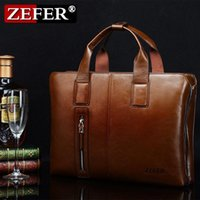 Wholesale Brand Fashion men s cross section ZEFER business computer briefcase messenger bag shoulder bag man bag