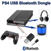 Wholesale 30pcs PS4 Controller Bluetooth Dongle USB Adapter Play Station For PS3 Computer PC Bluetooth Headset Headphont Adapter Receiver