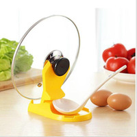 Wholesale Functional Spoon Holder Pot Lid Shelf Kitchen Tools Stand Spoons Rack