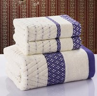 bath towel sales - Hot sale High quality New style cotton Piece Bath Towel Set Bath Towel Face towel