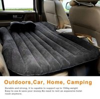 Wholesale Car Travel Inflatable Mattress Inflatable Bed Camping Back Seat Extended Mattress for Parent child or Lover
