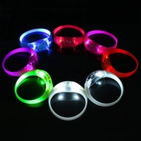 Wholesale High Quality Men and Women Outdoor Sport Luminous Hand Ring Super Light Weight LED Safety Warning Hand Ring Night Running Riding