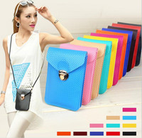 Wholesale HOT Candy Color Mini Bag Messenger Shoulder Coin Case Satchel Crossbody Purse Mobile phone package Cross Body