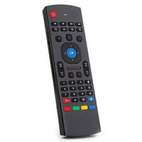 Wholesale best price g wireless IR MX3 air mouse keyboard use for amlogis s912 s905 s805 android tv box