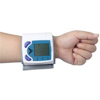 Wholesale 20pcs Digital Wrist Blood Pressure Monitor Heart Beat Meter Sphygmomanometer LCD Automatic Pulse Watch