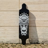 Wholesale KOSTON pro drop down longboard decks with ply canadian maple hot laminated inch inch ship type long skateboard deck