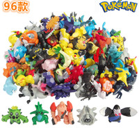 Wholesale High Quality Cute Pikachu anime Pocket Monster Toys Action Figures Pikachu furnishing articles doll Cartoon Games Mini Toy Model Kids Gift