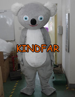 Mascot Costumes australian fancy dress - Australian Koala Mascot Costume Adult Size Fancy Dress Cartoon Character Outfit Suit
