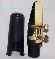 Wholesale Sax parts set Tenor Sax mouthpiece ligature and cap