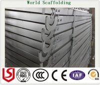 Wholesale SGS BV TUV Metal Plank Steel walk board Scaffolding Hook Plank with factory price