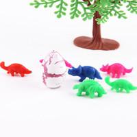 Wholesale 60pcs Novel Water Hatching Inflation Dinosaur Egg Water color Cracks Grow Egg Educational Toys Interesting Gift