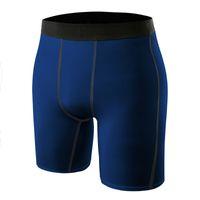 Calzoncillos de compresión de marca de alta calidad Calzoncillos de gimnasio de fitness de hombres Calzoncillos de calzado deportivo de ajuste seco de atletismo al aire libre de running Pantalones deportivos 6014