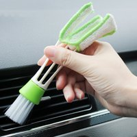 Wholesale New Universal Automotive Keyboard Supplies Versatile Cleaning Brush Vent Brush Cleaning Brush Car Styling Accessories