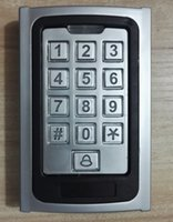 Wholesale Access Controller Password Keypad Metal Case RFID Reader For Door Security Silver
