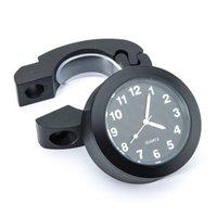 Wholesale Motorcycle Clock Watch Handlebar Tube Waterproof Mount chroming B712 for Harley CB400 CBR600 CBR1000 VTR1000 YA310 SZ