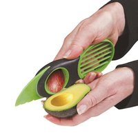 avocado pulp - Guaranteed Kitchen Tools Avocado Cut Fruit Device Shea Butter Knife Pulp Separator Three in fruit Knife Avocado Plane Tools