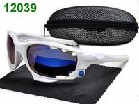 Envío libre foakleys al por mayor gafas de sol baratas gafas de sol polarizadas lado a otro hombre UV400 proteger la marca Gafas de sol Gafas Gafas de sol con la caja