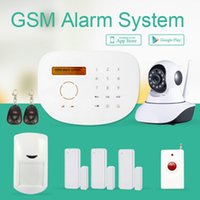 alarm system control panel - Security burglar gsm alarm system GS S2G gsm alarm system powerful APP control word display touch panel work with wifi camera