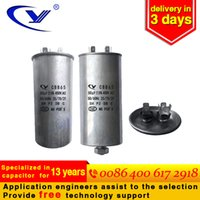 air compressor start capacitor - Hot sale factory custom CBB65 air conditioning compressor start capacitor