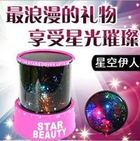 aa amazing - New Novelty Led Night Light lamp projection amazing colorful sky star V V AA Battery for home bedroom study lamp Cartoon children Kids