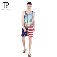 american flag swim trunks - Tailo Pal Love Usa Flag Shorts For Mens Surf Boardshort Custom Swim Trunks Sport Wear American Flag quick drying Shorts