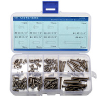 Wholesale UNC Stainless Steel Round Head Socket Cap Screws Assortment Kit
