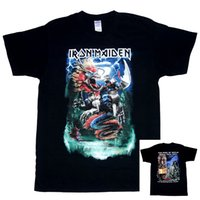 beijing books - Iron Maiden Authentic China Event Shirt Dated M L XL XXL The Book of Souls World Tour Beijing Shanghai Concert Eddie Riding Dragon