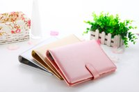 Wholesale Rose Gold Silver New Notebook A5 Leather Loose leaf Notepad Time Planner Series Diary Memo Travel Journal