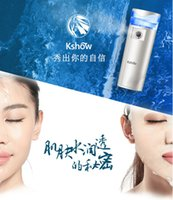 Wholesale 2015 Most Popular moisturize Spraying Handy Beauty facial Nanometer spray Humidifier Portable nano spray with USB recharge