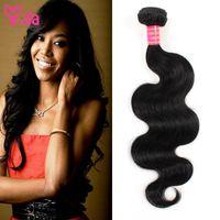 Wholesale Brazilian Virgin Hair Weave Bundles piece Body Wave Cheap Human Hair Weave Non process Virgin Brazilian Body Wave Hair Extensions Yida